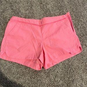 Lilly Pulitzer Adie Shorts Pink EUC